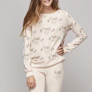 ALL THINGS FABULOUS - Tiger Print Sweatshirt